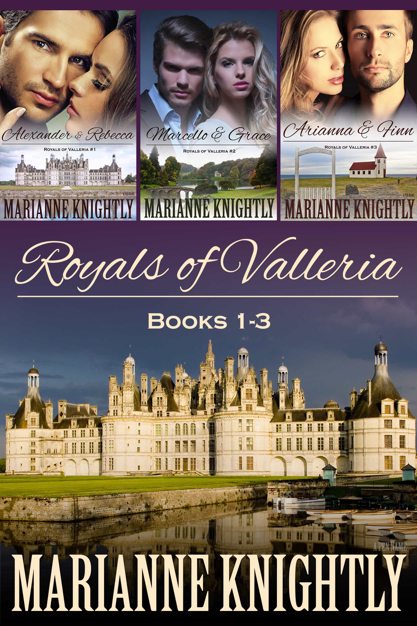 Royals of Valleria Box Set (Books 1-3)