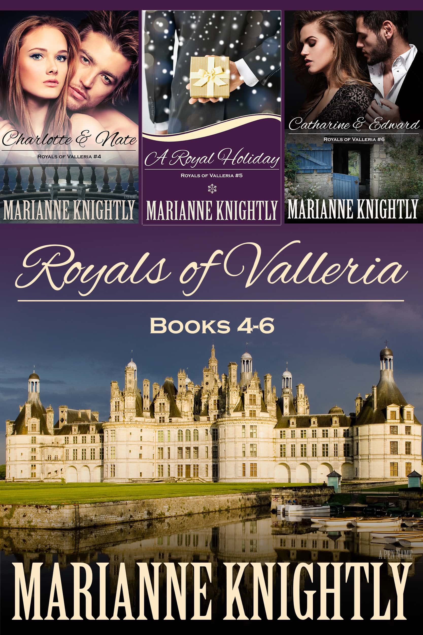 Royals of Valleria Boxed Set (Books 4-6)