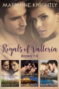 Royals of Valleria Box Set (Books 7-9) by Marianne Knightly