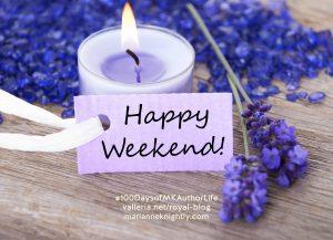 Lavender Happy Weekend