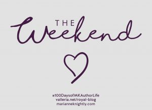Weekend Plans Week 6