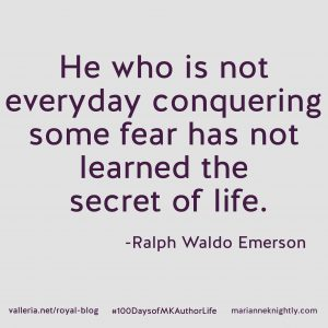 Emerson Quote on Fear
