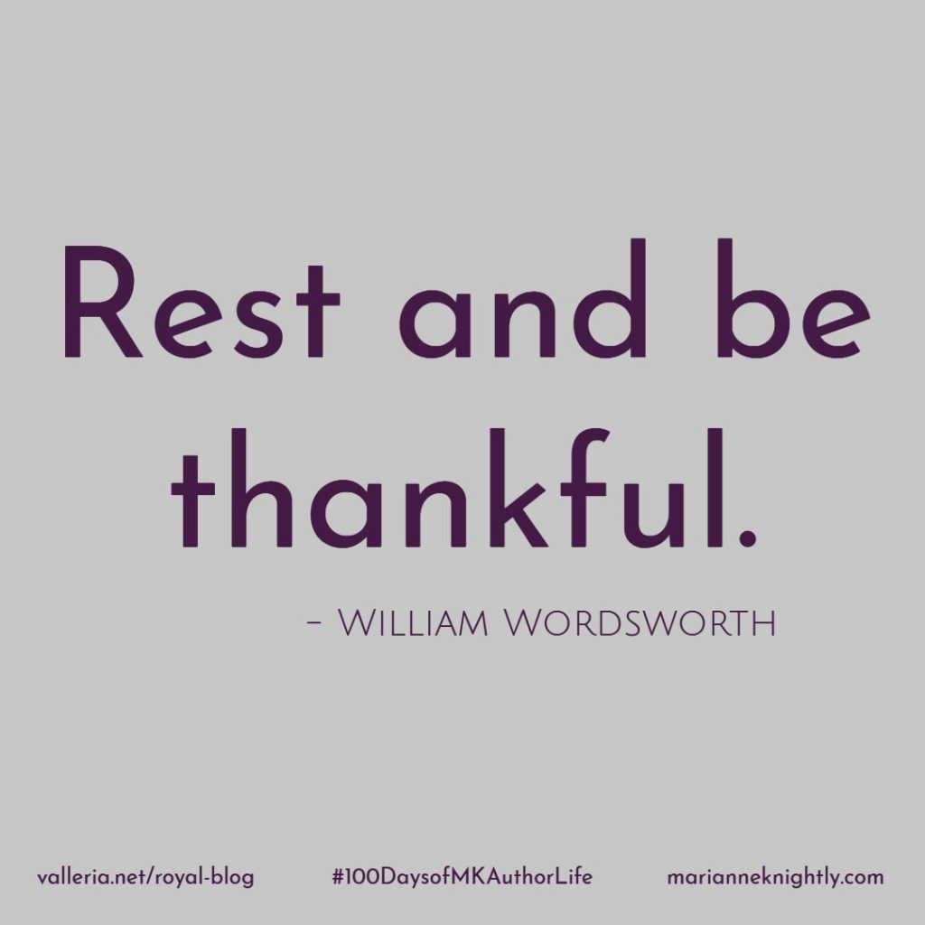 Rest and Be Thankful