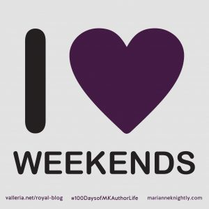 Weekend Plans - Week 9