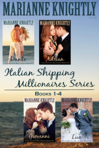 Italian Shipping Millionaires Boxed Set by Marianne Knightly