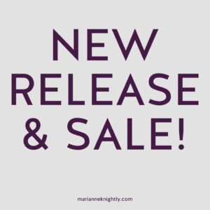 New Release and Book Sale from Marianne Knightly