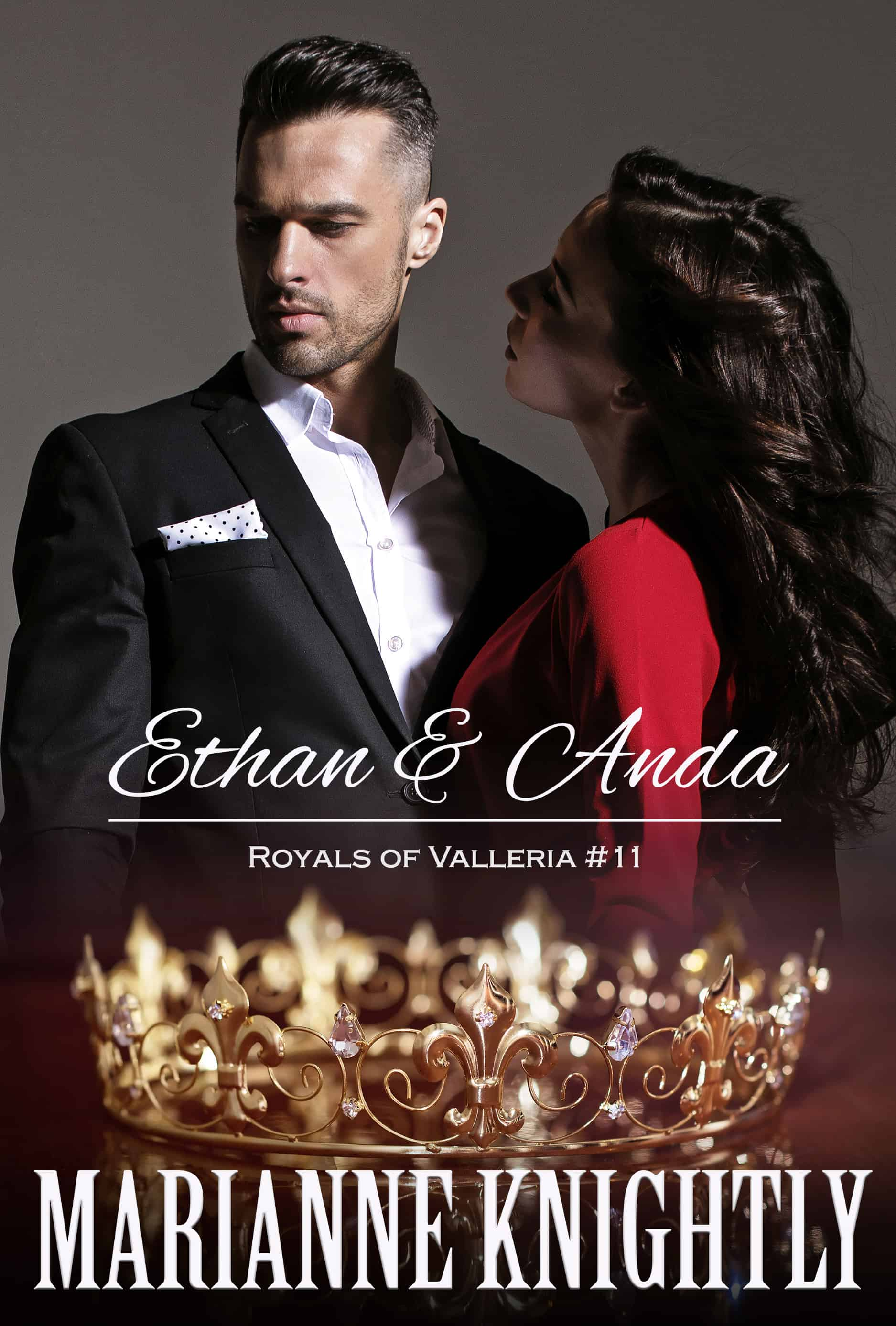 Ethan & Anda (Royals of Valleria 11) by Marianne Knightly