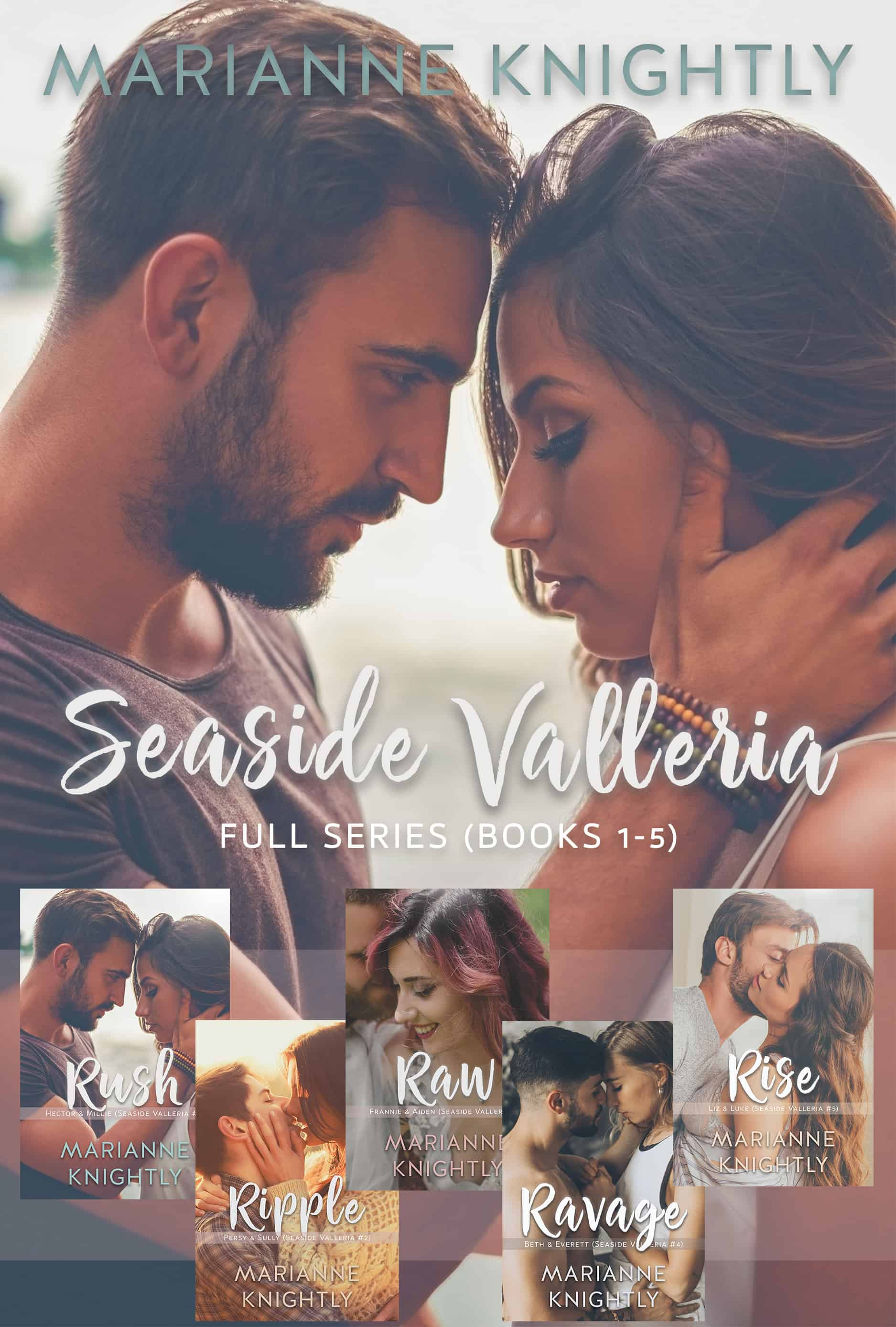 Seaside Valleria Box Set (Books 1-5) by Marianne Knightly