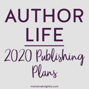 Author Life Behind-the-Scenes by Marianne Knightly