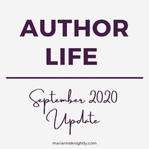Marianne Knightly Writing & Life Update