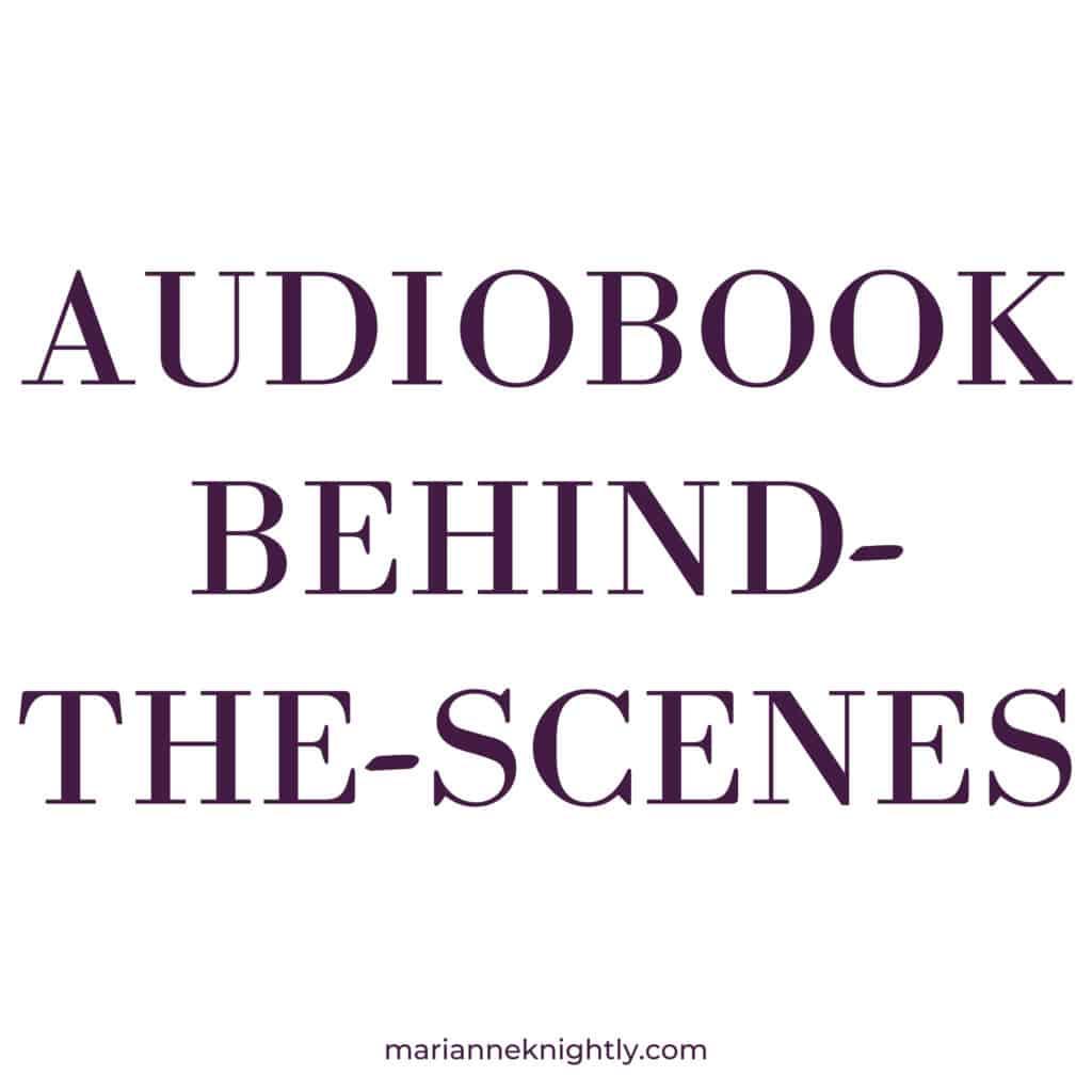 Audiobook BTS