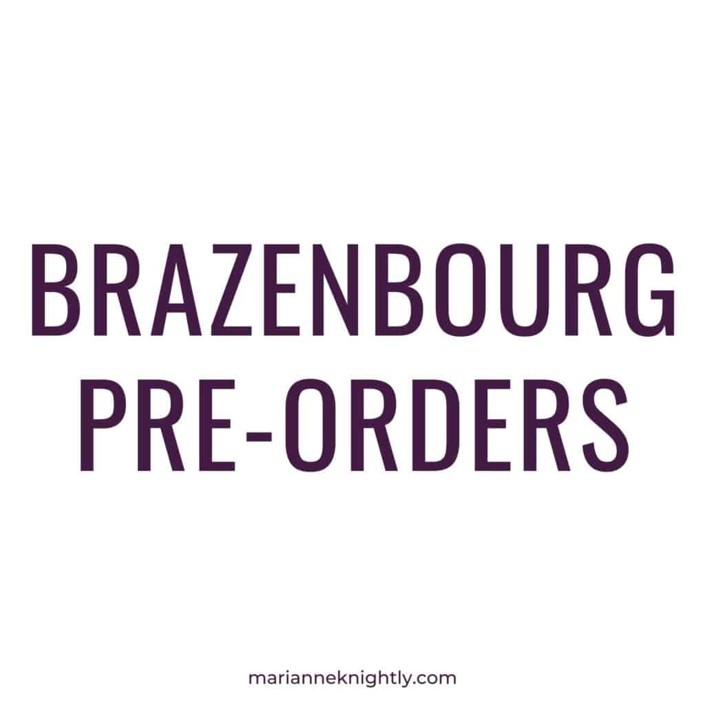 Pre-Order the Brazenbourg Duet