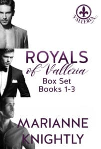Royals of Valleria Box Set (Books 1-3) by Marianne Knightly